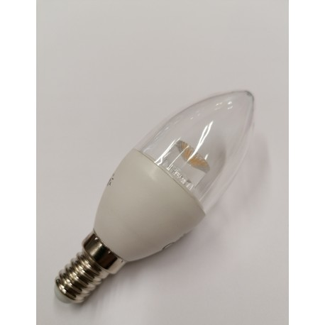 AMPOULE E14 5W BLANC CHAUD DIMMABLE FORME FLAMME