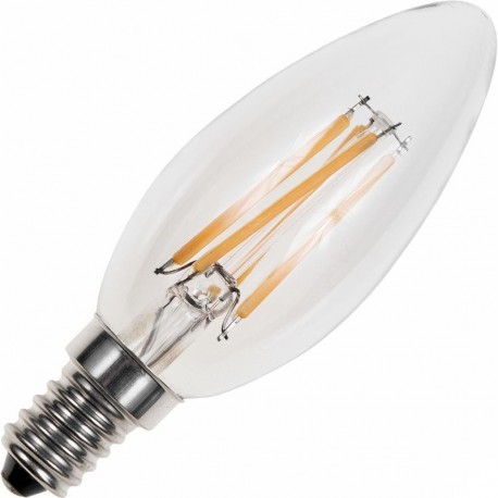 AMPOULE FLAMME LED E14 4WATTS 2700K DIMMABLE