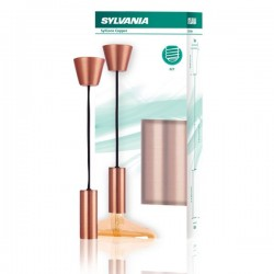 SUSPENSION SYLVANIA CUIVRE E27