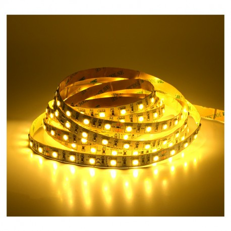 BANDEAU LED 3000K 5 M 60 LED/M 72W IP20