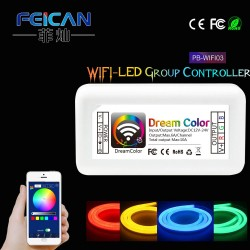 CONTROLEUR RGB WIFI LED 12/24V